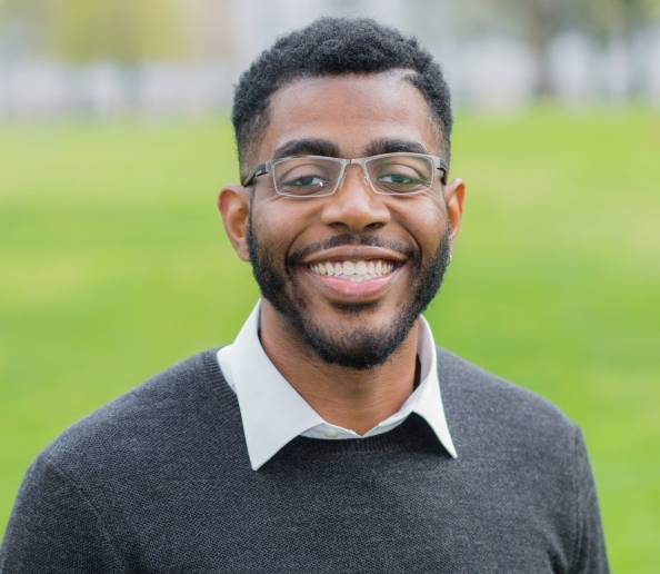 PhD candidate Jordan Lewis.