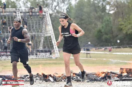 Amanda is a beast in the lab and on the obstacle course.